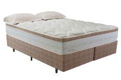 Colchão Herval de Molas POcket Supreme Pillow Top - Colchão Solteiro - 0,88x1,88x0,33 Sem Cama Box