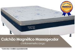 Colchão SImbal Magnetic Atomic Magnético Terapêutico c/ Infravermelho Longo c/ Massagem Vibroterápica - Colchão Simbal