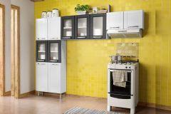 Cozinha Compacta Modulado Bertolini Múltipla CZM04 Aço 3 Peças (Paneleiro+2 Armários) - Cozinhas Bertolini