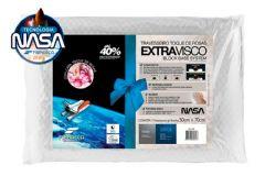 Travesseiro Fibrasca Extravisco Toque de Rosas - Travesseiro Fibrasca