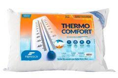 Travesseiro Fibrasca Fibra Thermo Comfort Duplo Conforto - Travesseiro Fibrasca