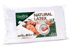 Travesseiro Duoflex Natural Látex King Alto LN1000 c/ Capa Percal 200 Fios p/ Fronha de 50x90 - Travesseiro Duoflex