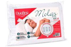 Travesseiro Duoflex Nasa Molas Alto Viscoelástico NM1100 c/ Capa p/ Fronha 50x70 - Travesseiro Duoflex