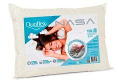 Travesseiro Duoflex Nasa Viscoelástico NS1114 c/ Capa de Algodão p/ Fronha 50x70 - Travesseiro Duoflex