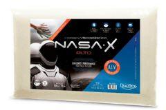 Travesseiro Duoflex Nasa X Alto Viscoelástico NS3100 c/ Capa de Algodão p/ Fronha 50x70 - Travesseiro Duoflex