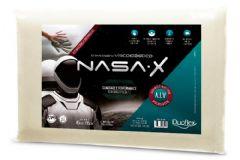 Travesseiro Duoflex Nasa X Viscoelástico NS3200 c/ Capa de Algodão p/ Fronha 45x65 - Travesseiro Duoflex