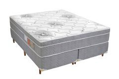 Colchão Polar Espuma Ortopédica Orthoface Vip Mega Firme Gray Euro Pillow Selado Inmetro - Colchão Solteiro - 0,88x1,88x0,25 - Sem Cama Box
