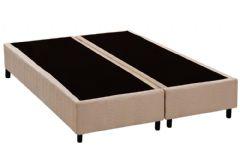 Cama Box Base Universal CRC Nobuck Camurça Clean - Cama Box Solteiro - 0,78x1,88x0,20 - Sem Colchão