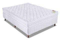 Colchão Orthocrin de Espuma D45 Royal Plus Pillow Top Pró Saúde Duplo Selado INMETRO e INER - Colchão Solteiro - 0,88x1,88x0,24 - Sem Cama Box