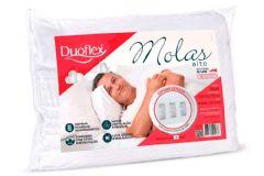 Travesseiro Duoflex de Molas MN1100 c/ Capa Percal 200 Fios p/ Fronha 50x70 - Travesseiro Duoflex