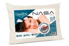 Travesseiro Duoflex  Nasa Alto Luxo Viscoelástico NS1116 Capa Malha c/ Zíper (17cm Alt.) - Travesseiro  -  50x70x17