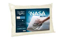 Travesseiro Duoflex  Nasa Alto Viscoelástico NS1116 Capa Malha c/ Zíper (17cm Alt.) - Travesseiro  -  50x70x17