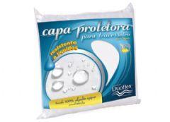 Capa Proterora Duoflex P/ Travesseiro Capa Percal 200 Fios Impermeavel - Protetor de Travesseiro Impermeável 50x70