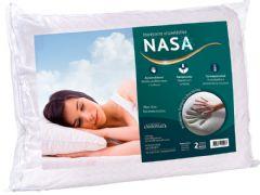 Travesseiro Duoflex Sonomax Nasa Viscoelástico  - Travesseiro  -  65x45x14