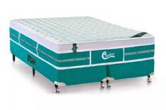 Colchão Castor de Molas Pocket Gold Star Green Viscoelástico Euro Pilow - Colchão Solteiro - 0,88x1,88x0,32 - Sem Cama Box