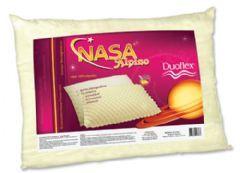 Travesseiro Duoflex Flocos de Viscoelástico Alpino Nasa - Travesseiro Duoflex